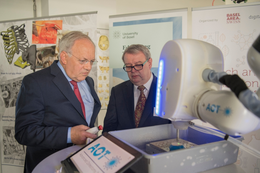 Bundesrat Johann Schneider-Ammann am Biotech and Digitization Day