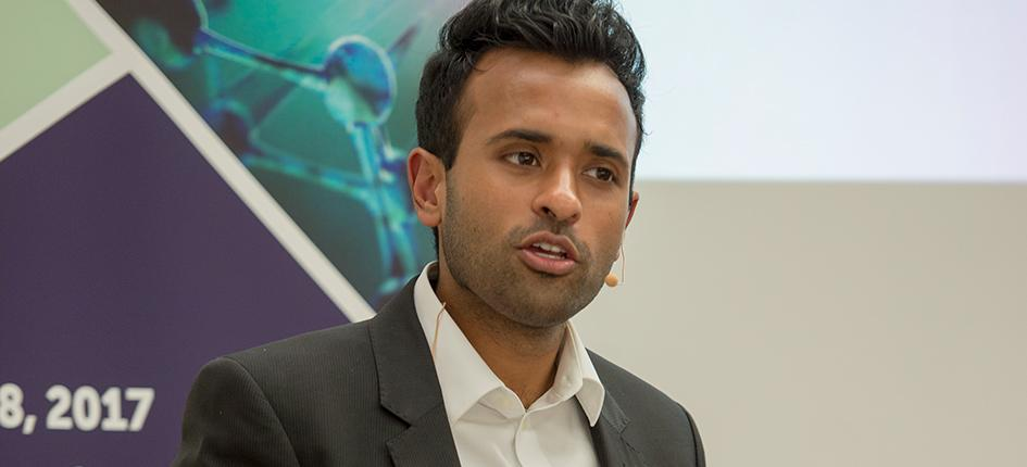 Vivek Ramaswamy, Founder and Chief Executive Officer of Roivant Sciences