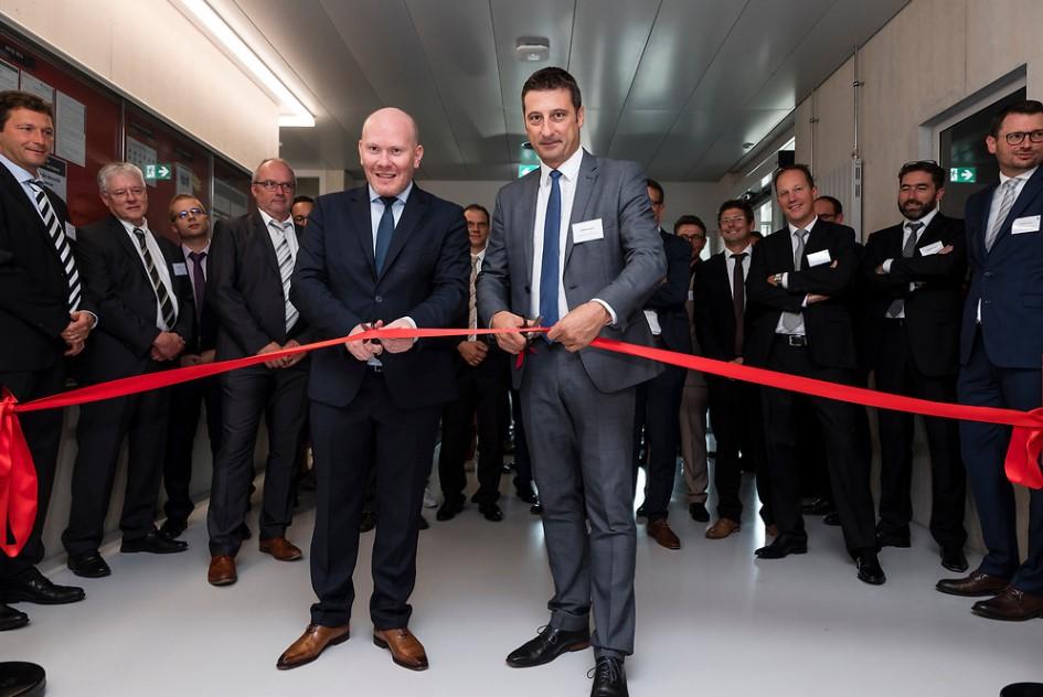 Inauguration du nouveau site de production Cartier à Glovelier