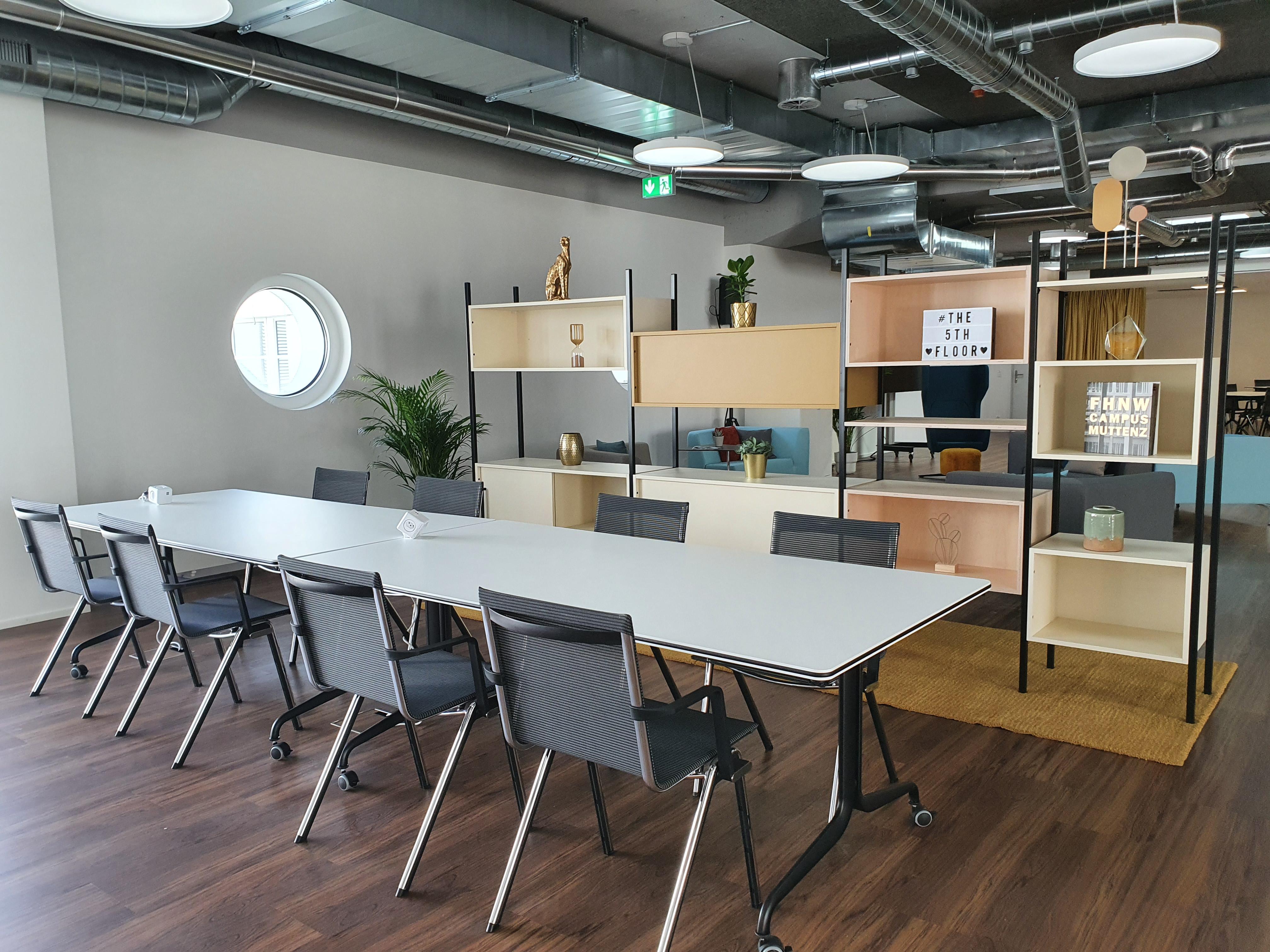 Coworking space 5th floor