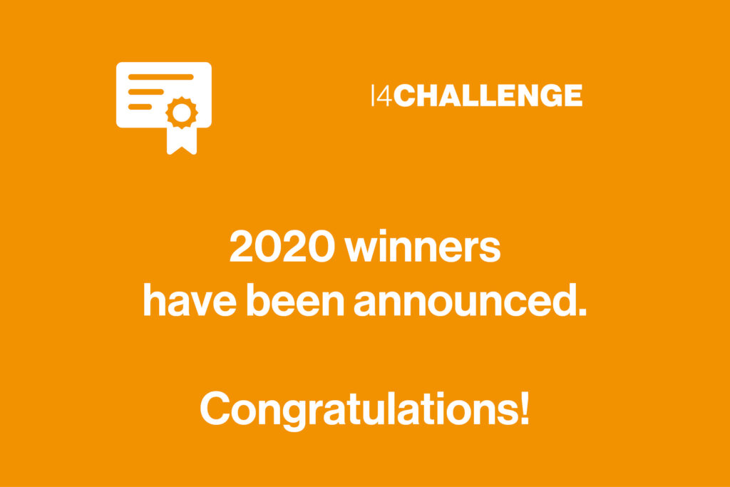 Announcing the final winners of the i4Challenge 2020