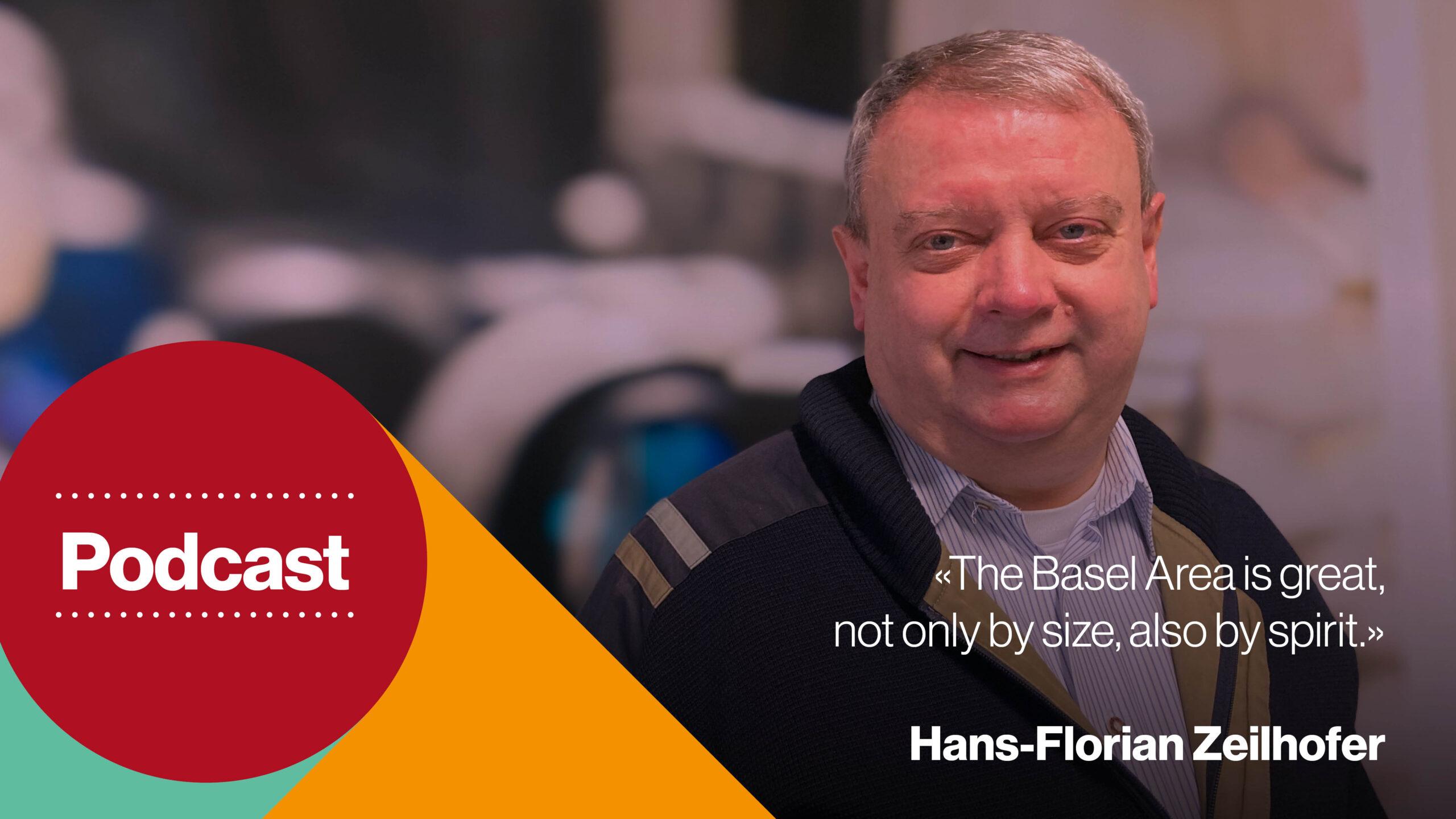 Podcast cover - Top researcher and entrepreneur: Hans-Florian Zeilhofer