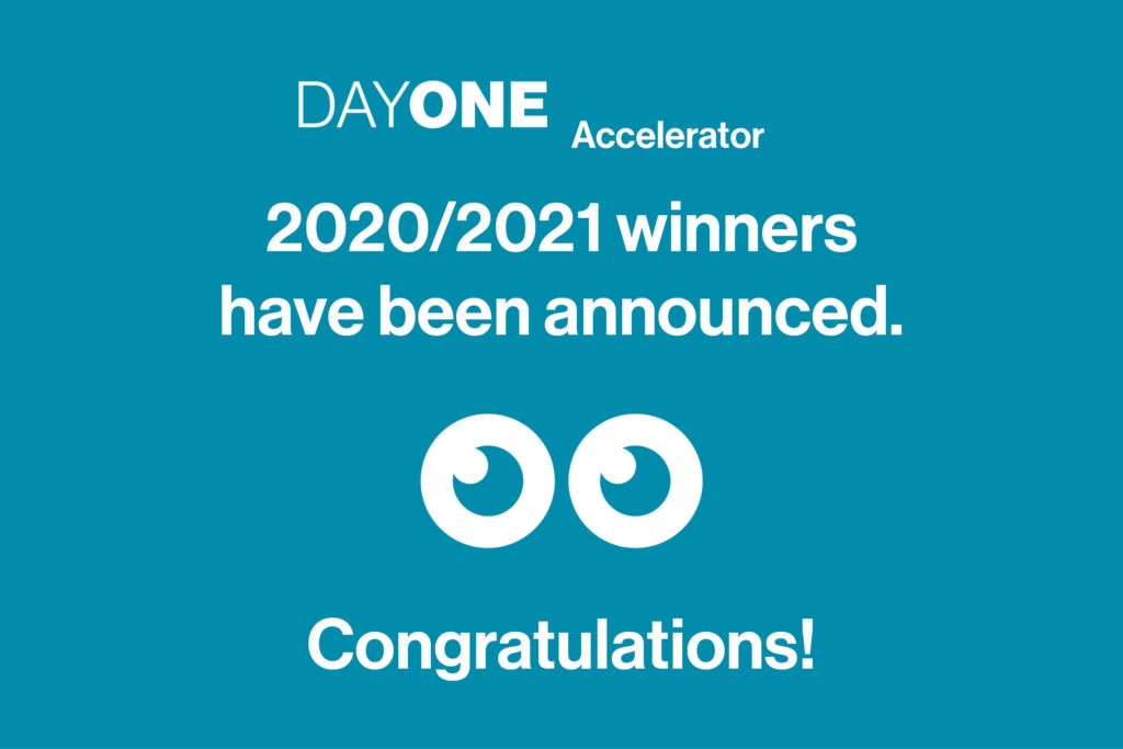 Announcing the chosen ventures for the DayOne Accelerator (2020/2021)