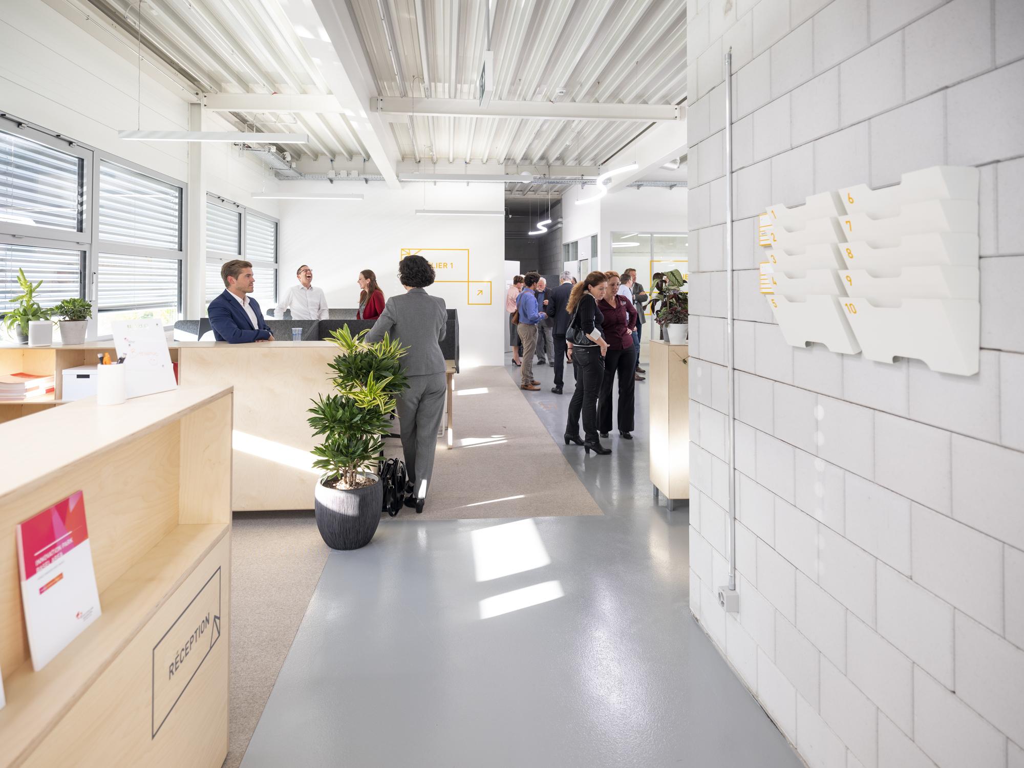 Opening Switzerland Innovation Park Basel in the canton Jura
