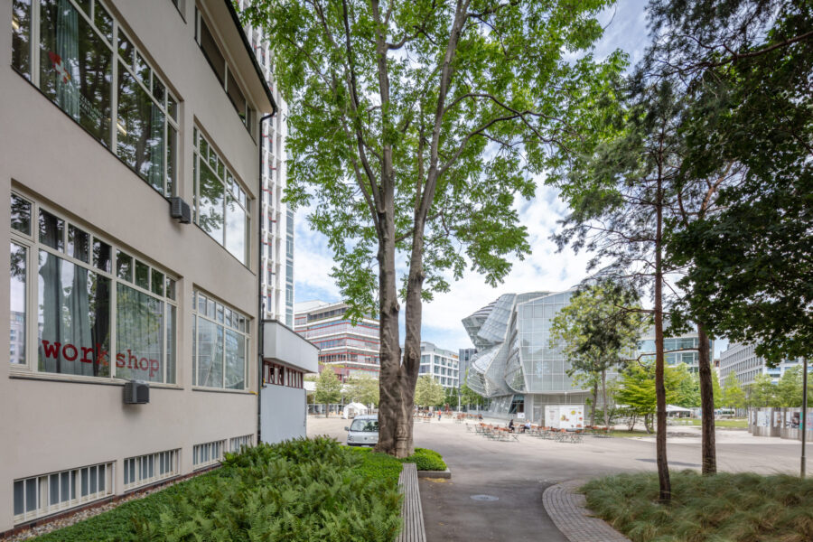 Novartis opens its campus. The first partner is Switzerland Innovation Park Basel Area