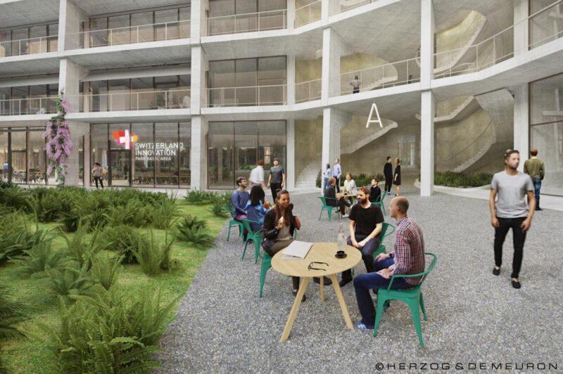 Switzerland Innovation Park Basel Area Main Campus